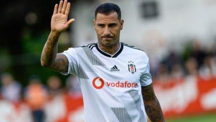 Quaresma'dan Beşiktaş'a duygusal veda