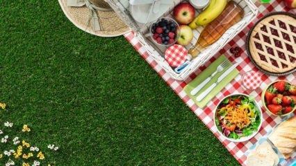 Piknik sepetine mutlaka koyulması gereken malzemeler nelerdir?