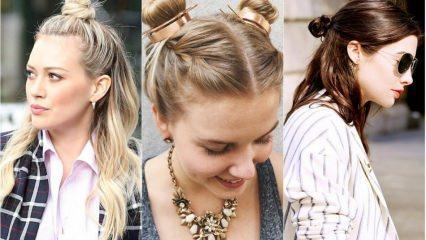 Yazın en çok kullanılan saç modelleri hangisi?