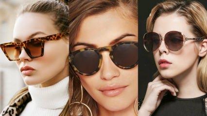 2019-20 sezonu desenli gözlük çerçevesi modelleri