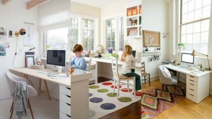 Çalışma odası nasıl dekore edilir? 2020 çalışma odası dekorasyon önerileri