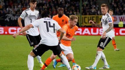 Almanya - Hollanda maçı nefes kesti! 6 gol...