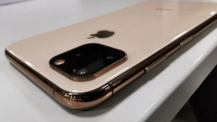 Çinliler Apple'dan önce piyasaya sürdü! İşte İstanbul'da görülen iPhone 11!