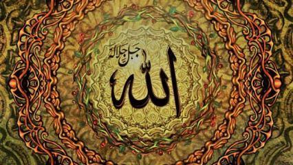 Esmaül Hüsna (Arapça & Türkçe) oku: Allah'ın 99 ismi anlamları faziletleri
