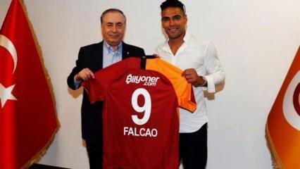 Falcao'nun sözleşmesi ortaya çıktı!
