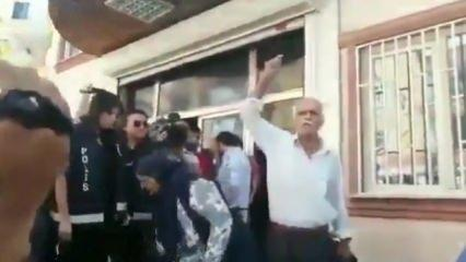 HDP önünde evlatlarını isteyen babalar isyan etti!