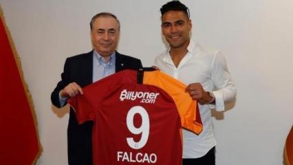 Falcao'nun G.Saray için reddettiği teklif!
