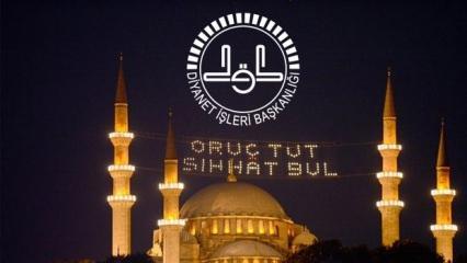 2020 Ramazan ayı ne zaman başlayacak? Diyanet orucun ilk gününü açıkladı