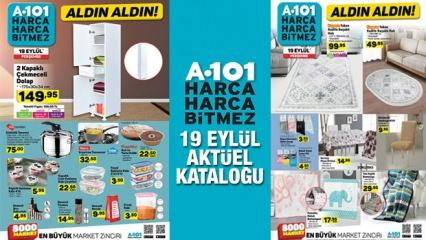 A101 19 Eylül aktüel ürün kataloğu! Çeyizlik ve ev tekstil ürünlerde kampanya