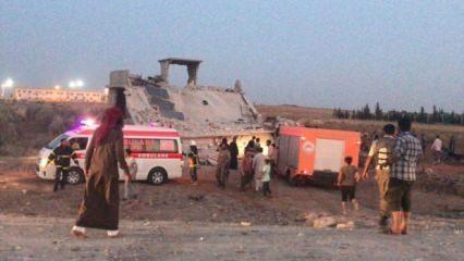 Çobanbey beldesine hain saldırı: 12 sivil hayatını kaybetti