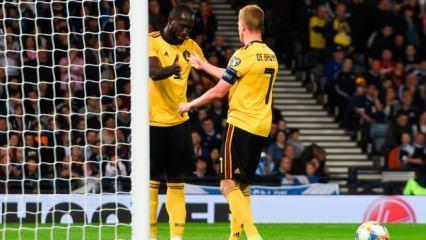 De Bruyne yıldızlaştı, Belçika gol yağdırdı!