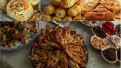 Gün sofraları için en pratik börek tarifleri