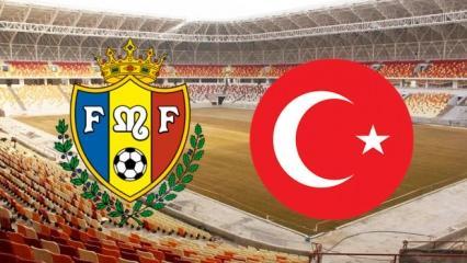 Moldova Türkiye maçı bu akşam saat kaçta? Milli maç hangi kanalda?