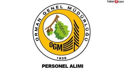 OGM personel alımı devam ediyor! Orman Genel Müdürlüğü personel başvuru ekranı..