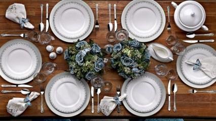 Porselen yemek takımı alırken nelere dikkat edilir? Nasıl saklanır?
