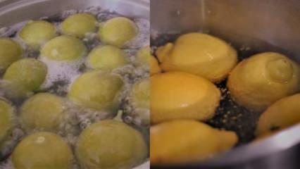 Şipşak yağ yakan şok Haşlanmış limon diyeti listesi ile bariz farkı keşfet