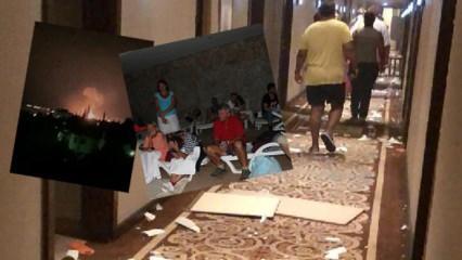 KKTC'de patlama! Gün ağarınca ortaya çıktı