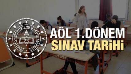 2019 - 2020 Açıköğretim lisesi AÖL 1.dönem sınav takvimi belli oldu