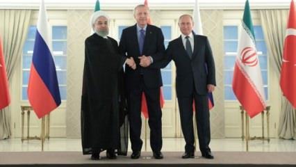 3'lü zirve başladı: Erdoğan Putin ve Ruhani'den ilk açıklamalar