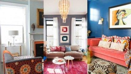 Eklektik dekorasyon nedir? Nasıl uygulanır? 2019-20 eklektik dekorasyon örnekleri