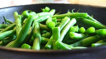 Taze fasulye yiyerek zayıflama yöntemi