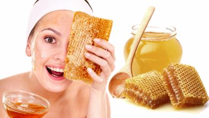 Bal yüze sürülür mü? Balın cilde faydaları nelerdir?