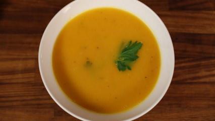 Enfes kremalı havuç çorbası nasıl yapılır?