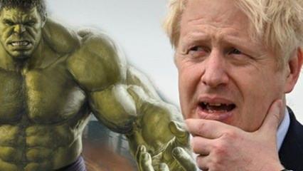 İngiltere Başbakanı Boris Johnson ülkesini Hulk'a benzetti!