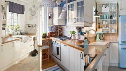 Küçük mutfak nasıl kullanışlı hale getirilir? Küçük mutfaklarınız için dekorasyon önerileri