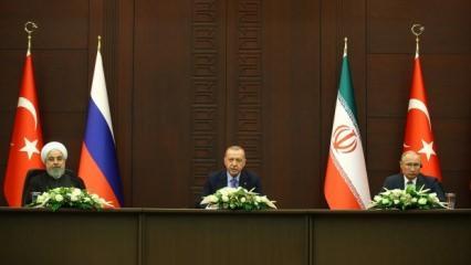 Liderlerden Suriye toplantısında 'Yemen' açıklaması