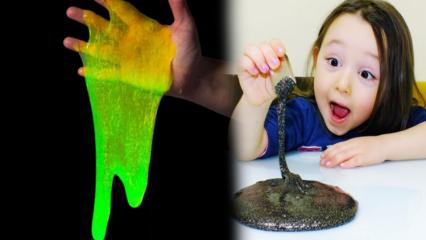 Slime nedir? Slime hamurunun zararları neler?