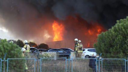 Tuzla'daki yangında korkutan detay! O haritayı yayınladılar
