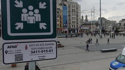 AFAD'dan 'toplanma alanı' paylaşımı