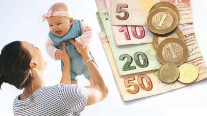 2019 Annelere devlet desteği ve ödeme tutarları yenilendi