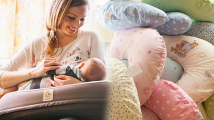 Evde pratik emzirme yastığı dikimi! Emzirme yastığı nasıl kullanılır?