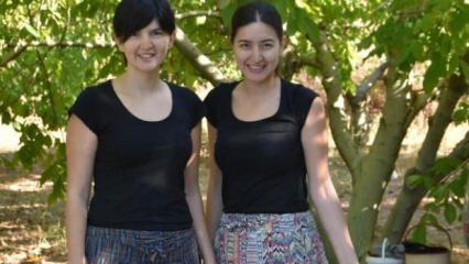 İki kız kardeş köye döndü, siparişlere yetişemiyor!