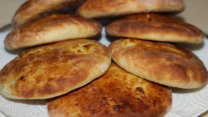 Yumuşacık pita ekmeği nasıl yapılır?