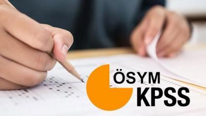 2020 KPSS Memurluk sınavı ne zaman? Lise, Önlisans ve Lisans sınav takvimi...