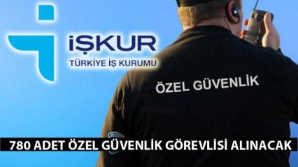 İŞKUR güvenlik görevlisi alımı! İŞKUR Türkiye geneli alım yapacak!