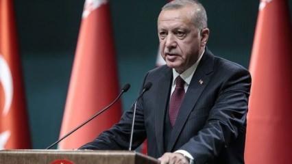 Erdoğan'dan, Halkbank'a soruşturma açıklaması
