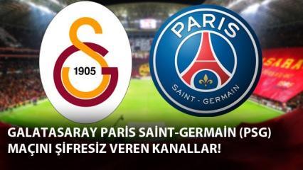 Galatasaray PSG maçını şifresiz izleme: GS PSG maçını veren yabancı kanallar!