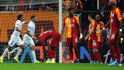 Galatasaray PSG'ye direnemedi!