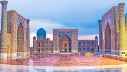 Özbekistan'da görülmesi gereken göz alıcı Türk- İslam Şaheserleri