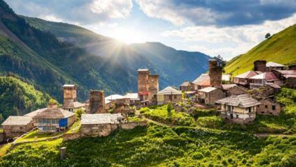 Türklerin en çok gittiği ülke Gürcistan'da görülmesi gereken yerler