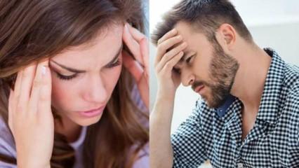 Baş ağrısı nasıl geçer: Gerilim tipi ve küme baş ağrısı nedenleri...