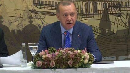 Erdoğan Merkel'e çattı: Nein! NATO'ya aldınız da benim mi haberim yok?