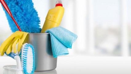 Ev temizliği nasıl yapılır nereden başlanır?