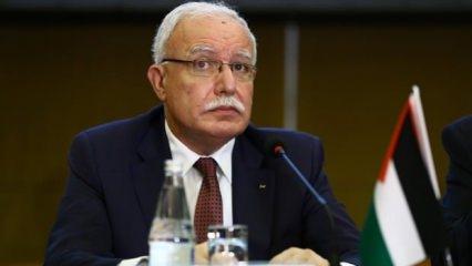 Filistin'den 'Barış Pınarı Harekatı'nı kınadı' iddialarına resmi cevap