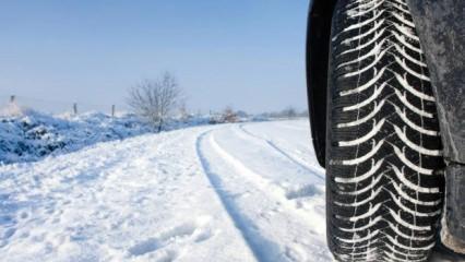 Kış lastiği uygulaması ne zaman başlıyor? Kış lastiği takmamanın cezası ne kadar?