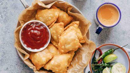 Samosa nasıl yapılır? Hint böreği tarifi